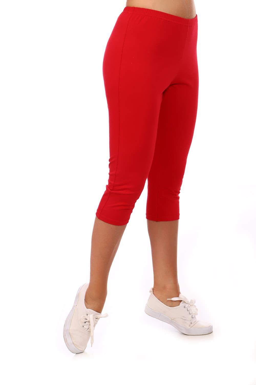 Лосины женские (вискоза) красные
